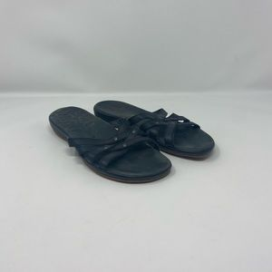 Keen Leather Strappy Slip On Sandals Women's Sz 7